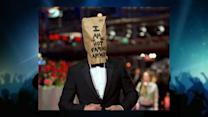 Shia LaBeouf Hits the Red Carpet Wearing a Paper Bag