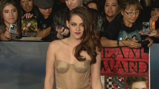 See Kristen Stewart's Sheer Breaking Dawn 2 Premiere Dress From Every Angle!