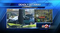 Police: Man fired at officers before fatal crash