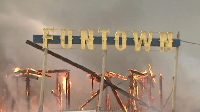 Fire Strikes NJ Boardwalk After Sandy Recovery