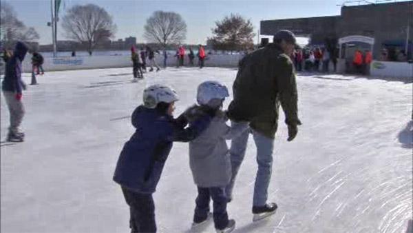 Blue Cross RiverRink marks 20th anniversary