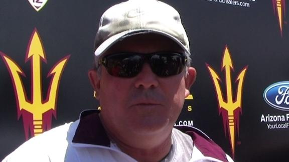 Todd Graham practice comments 08/03/12