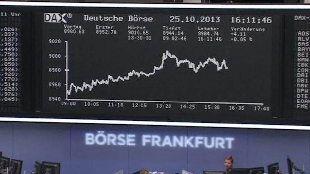 Germany's DAX hits record 9000 point high