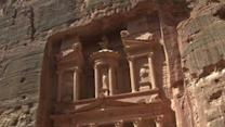 Raw: Obama Tours Ancient City of Petra