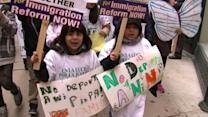 Chicago marchers plead for immigration reform