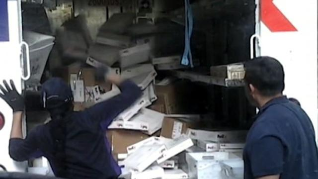 FedEx Worker Caught Throwing Packages on Video