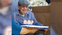 WWII veteran gets 100th birthday surprise