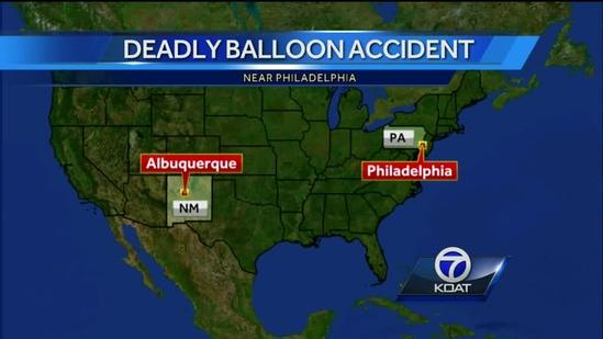 Balloon Pilot's Death
