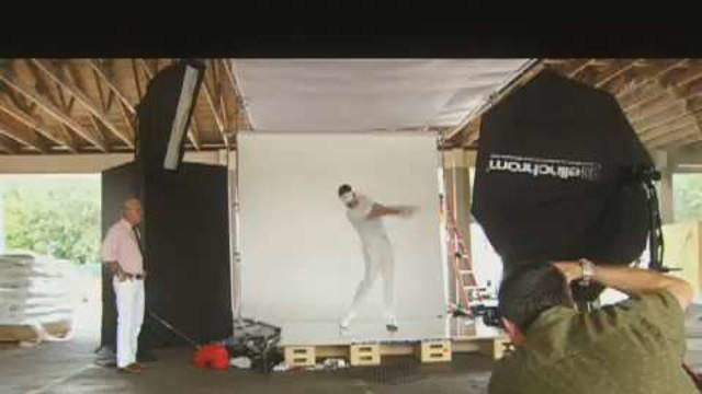 Golf Digest Cover Shoots - Behind The Scenes with Ian Poulter
