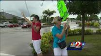 Local Tea Party members protest IRS