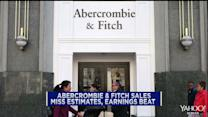 Abercrombie & Fitch, Guess and Williams-Sonoma fall as sales disappoint