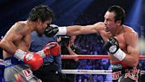 Pacquiao Goes Down