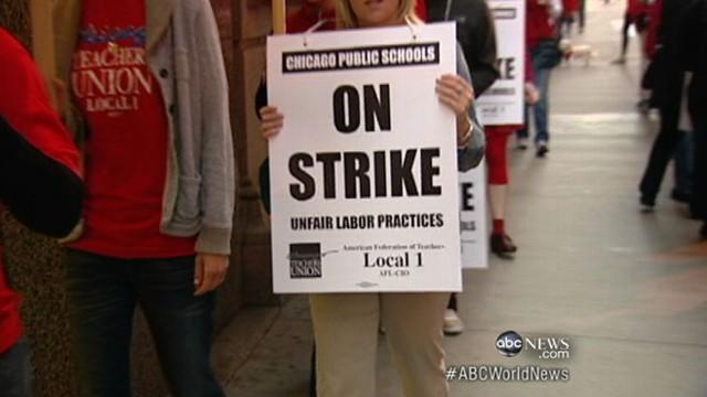 Chicago Teachers Strike Is Biggest in a Generation