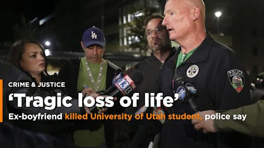 Records: Suspect in Utah university killing was sex offender