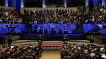 Massive funeral for slain Texas deputy