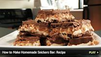 How to Make Homemade Snickers Bar: Recipe