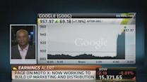 Google soars to record high