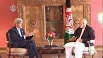 Kerry Meets Karzai to Discuss Afghan Election Crisis