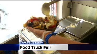 Food Trucks Take Over Uptown