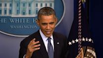"""Obama: Some in GOP want to """"take default out for a spin and see how it rides"""""""