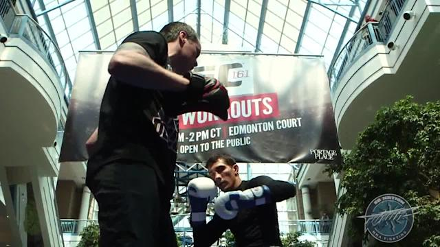 UFC 161 open workout video