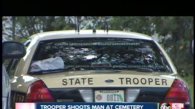 Highway Patrol trooper shoots, wounds suspect