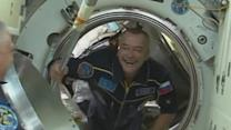 Olympic torch enters the International Space Station