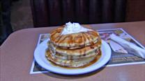 Vets get all-you-can-eat Denny's pancakes