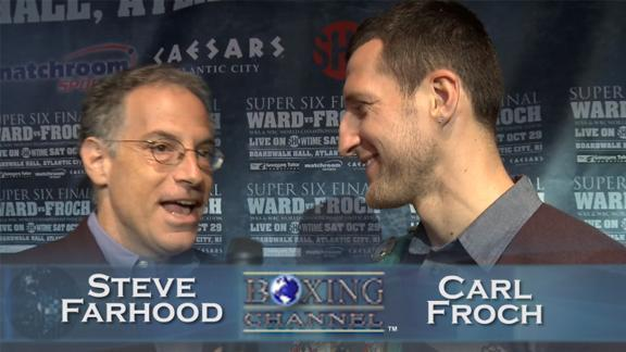 Carl Froch not impressed with Andre Ward