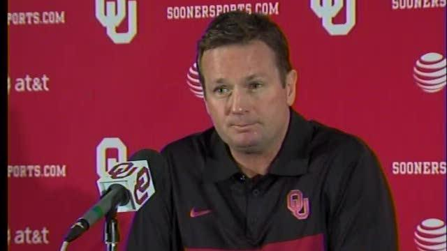 Bob Stoops comments about Penn State