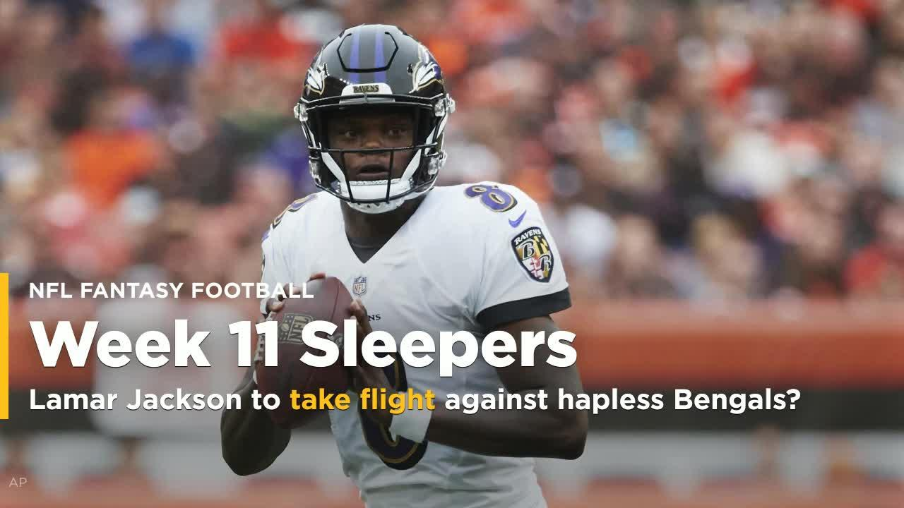 Week 11 Rookie fantasy sleepers with Jackson ab53dcc83
