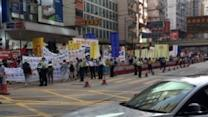 Activists Call for Democracy With Hong Kong March