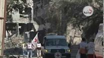 ICRC Convoy Evacuates Gaza's Wounded