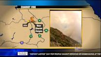 Chariot Fire now at 2,500 acres, 10 percent contained