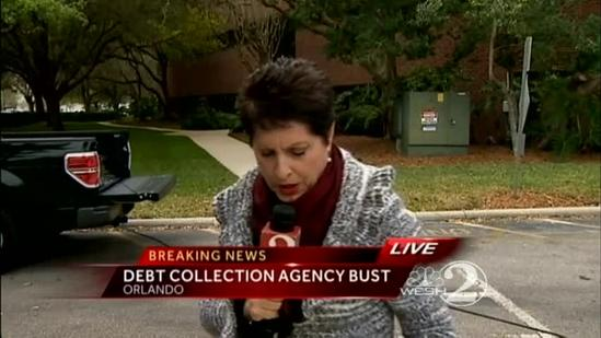 Officials bust debt collection agency