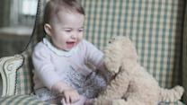 New photographs show Princess Charlotte at six months
