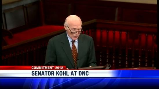 Kohl reflects on time in Senate