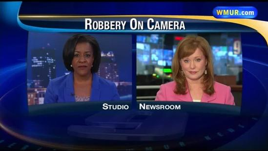 Goffstown armed robbery caught on camera