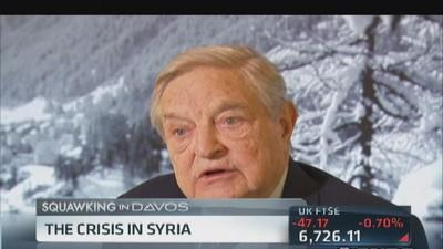 Soros on crisis in Syria