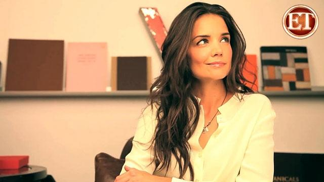 Katie Holmes is Face of Cosmetic Line