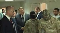 Ukrainian PM Visits Injured Soldiers in Dnipropetrovsk