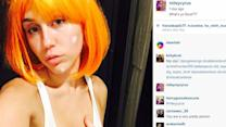 Miley Cyrus 'Accidentally' Flashes a Nipple on Instagram
