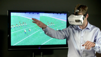 Virtual reality catches on in football