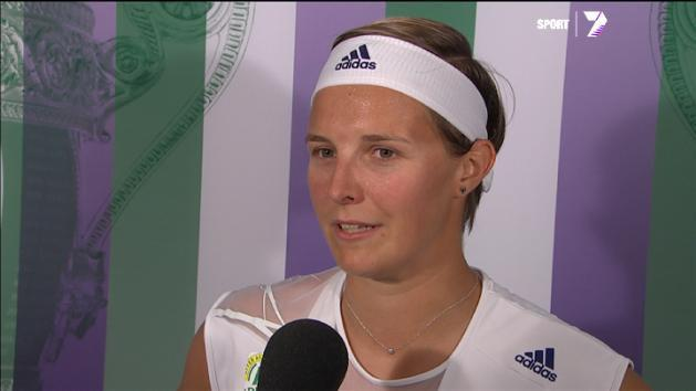Post Match Interview: Kirsten Flipkens