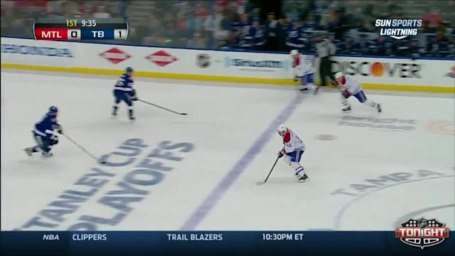 Montreal Canadiens at Tampa Bay Lightning - 04/16/2014