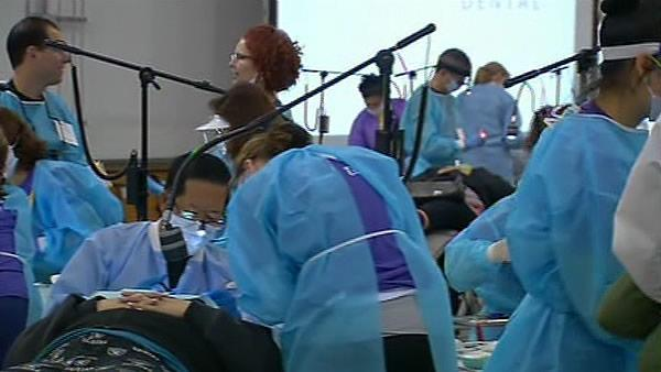 Free dental care offered at SJ Convention Center