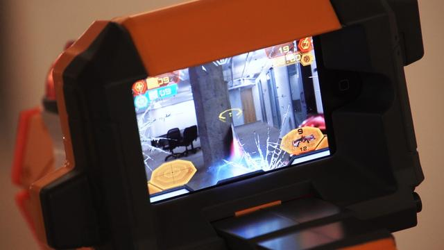 Augment This! Nerf Lazer Tag for iOS battle tested.