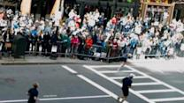 Boston bombing suspect charged at hospital bedside