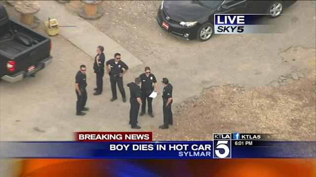 Boy, 3, Dies After Being Trapped in Hot Car: LAPD