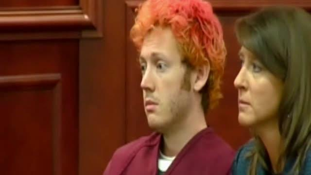 James Holmes, Colo. shooting suspect, in court